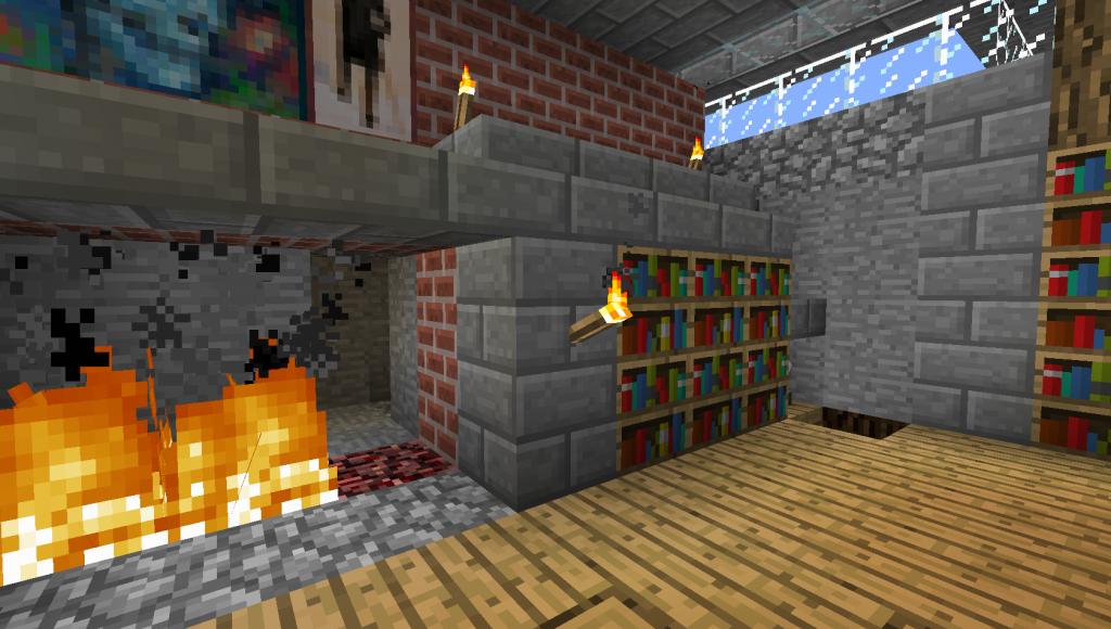 antorcha de chimenea