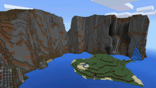 Seeds Minecraft PE Extreme Mountains